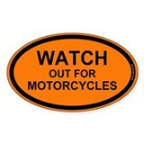 Motorcycle Bumper Stickers
