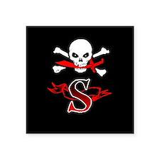 Jolly Roger S Monogram Sticker