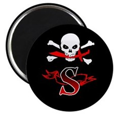 Jolly Roger S Monogram Magnets