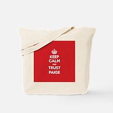 Trust Paige Tote Bag