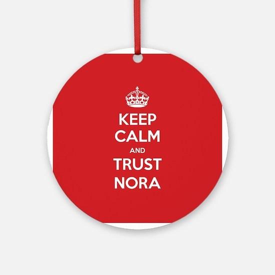 Trust Nora Ornament (Round)