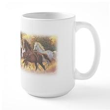 Running Free Horses Mugs
