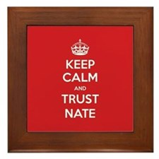 Trust Nate Framed Tile