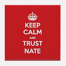 Trust Nate Tile Coaster