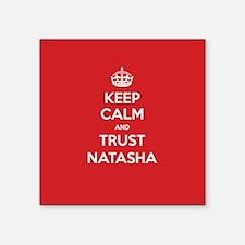 Trust Natasha Sticker