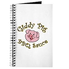 Giddy Pig Original Journal