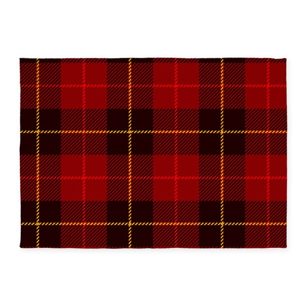 Plaid Rug: Tartan Plaid 5'x7'area Rug By BestGear