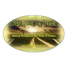 Disciples of Truth Banner Decal