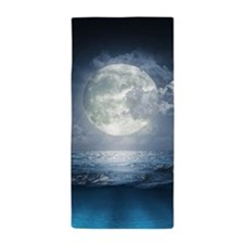 Night Ocean Beach Towel