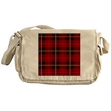 Tartan Plaid Messenger Bag