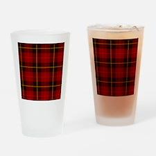 Tartan Plaid Drinking Glass