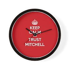 Trust Mitchell Wall Clock