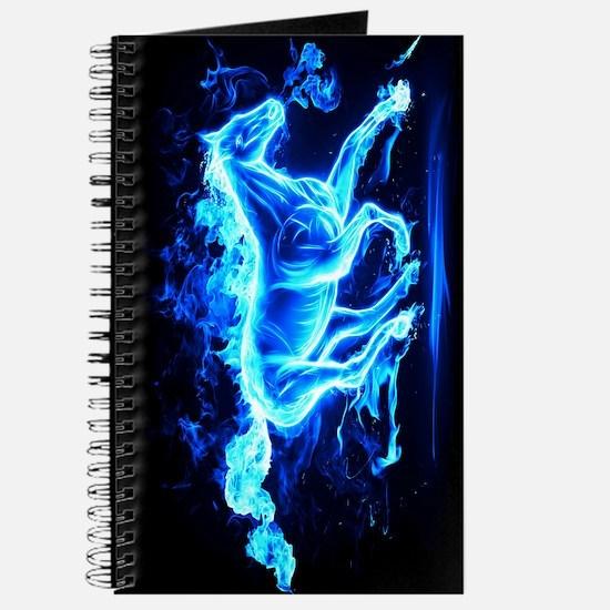 Flamed Horse Journal
