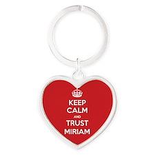Trust Miriam Keychains