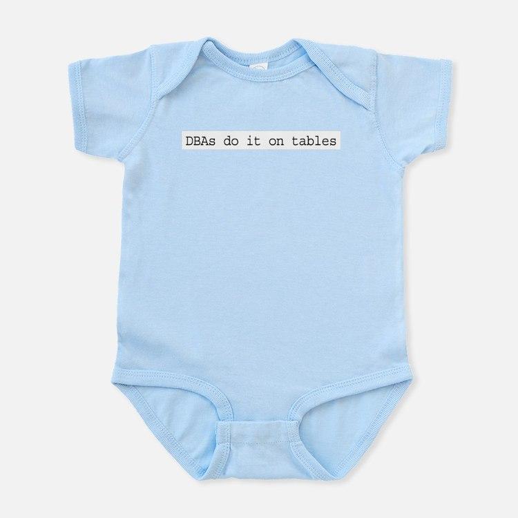 dbasdoitontables-text.png Infant Bodysuit