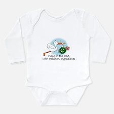 Stork Baby Pakistan USA Infant Bodysuit Body Suit