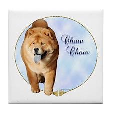 Chow Portrait Tile Coaster