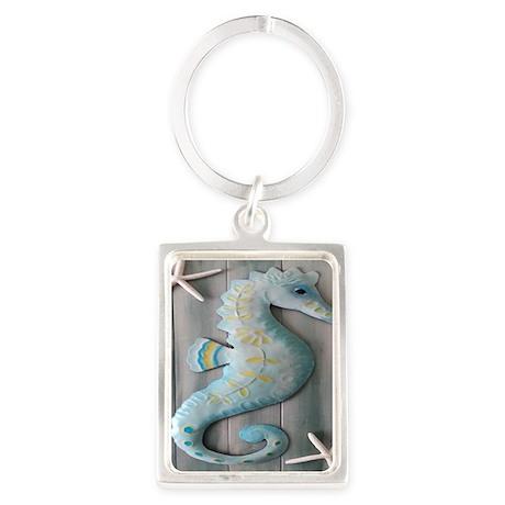 Seahorse Portrait Keychain
