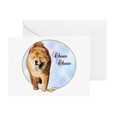 Chow Portrait Greeting Cards (Pk of 10)
