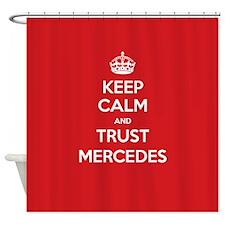 Trust Mercedes Shower Curtain