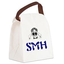 SMH = Shaking My Head Canvas Lunch Bag