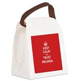 Melinda Canvas Lunch Bag