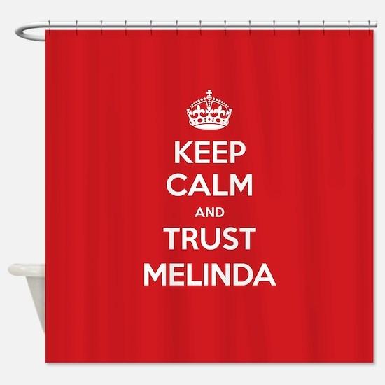 Trust Melinda Shower Curtain