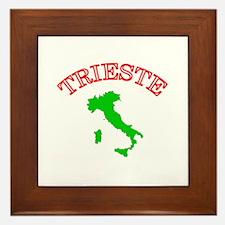 Trieste, Italy Framed Tile