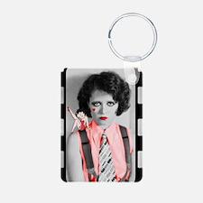 Clara Bow Gotta Love An It Girl Keychains