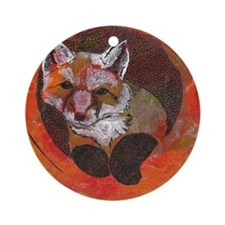 The Cunning Little Vixen Ornament (Round)
