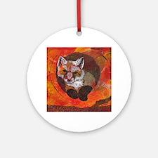 The Cunning Little Vixen Ornament (Round)