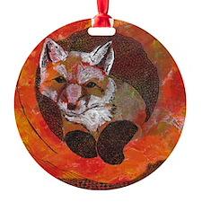 The Cunning Little Vixen Ornament