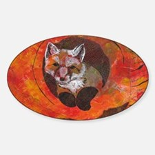 The Cunning Little Vixen Decal