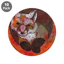 """The Cunning Little Vixen 3.5"""" Button (10 pack)"""