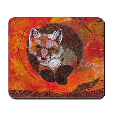 The Cunning Little Vixen Mousepad