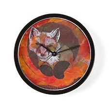 The Cunning Little Vixen Wall Clock
