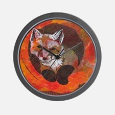 The Cunning Little Vixen Wall Clock