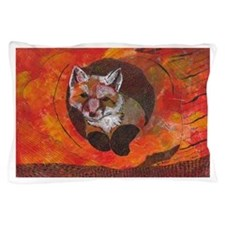 The Cunning Little Vixen Pillow Case