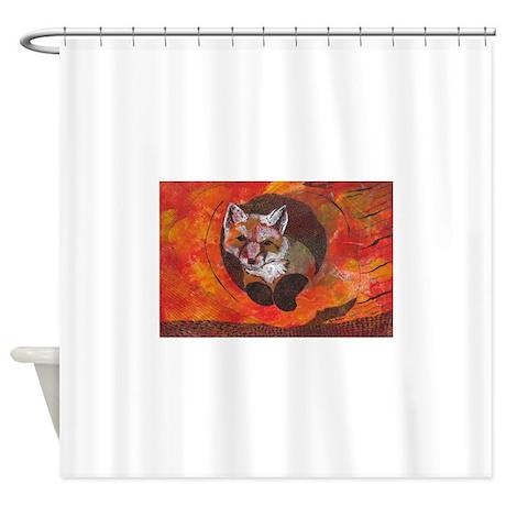 The Cunning Little Vixen Shower Curtain
