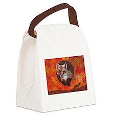 The Cunning Little Vixen Canvas Lunch Bag