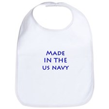 Cute Us military Bib