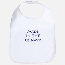 Funny Navy child Bib