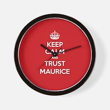 Trust Maurice Wall Clock