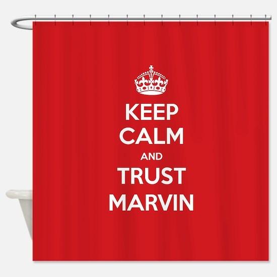 Trust Marvin Shower Curtain