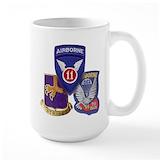 503 airborne Large Mugs (15 oz)