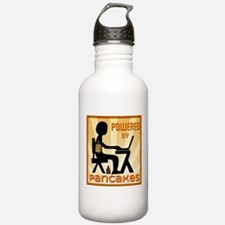Powered by Pancakes Water Bottle