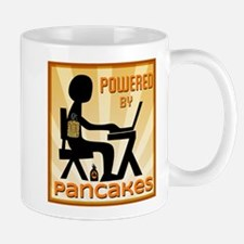 Powered by Pancakes Mugs