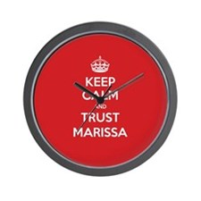 Trust Marissa Wall Clock