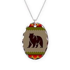 Woodland Bear Necklace