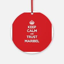 Trust Maribel Ornament (Round)